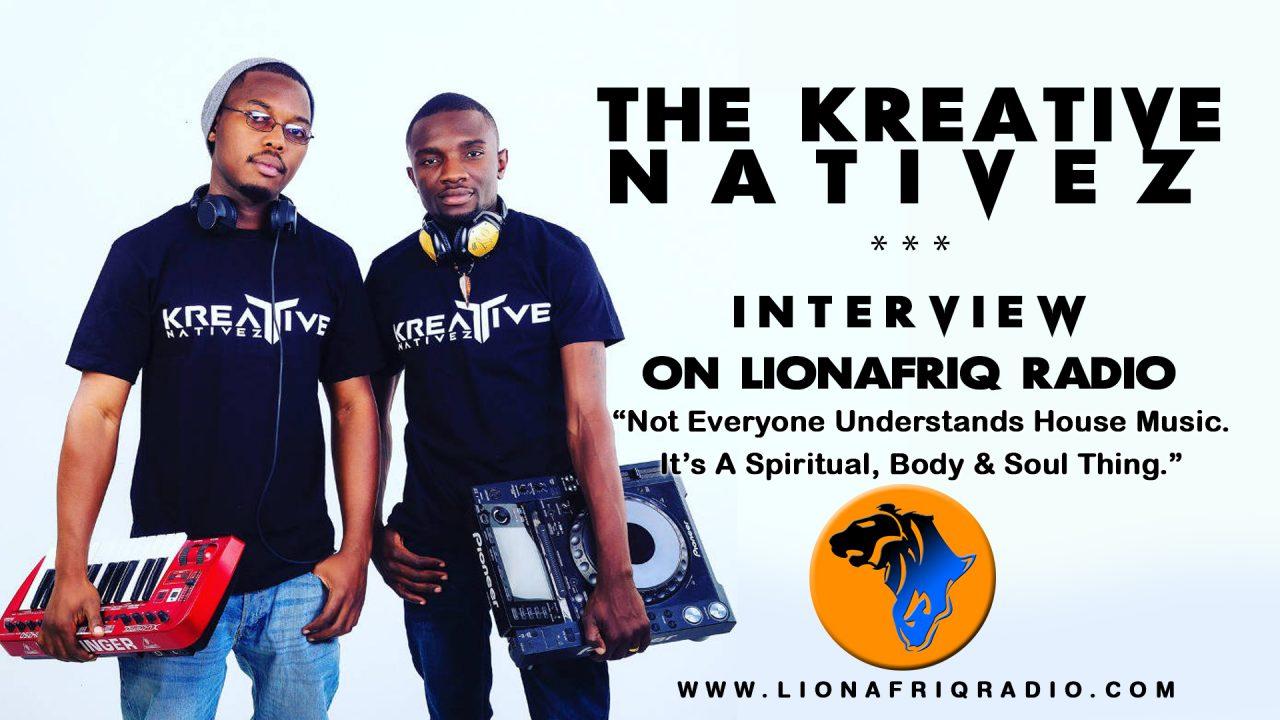 Kreative Natives Interview on LionafriQ Radio